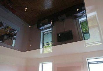 plafond suspendu – quoi? Conception, accessoires, l'installation