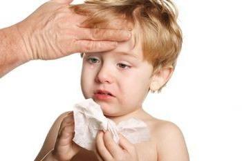 Sinusitis im Kind: die Zeichen der Krankheit