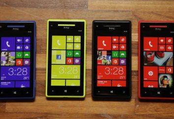 Smartphone HTC 8x systemu Windows Phone: Cechy i opinie