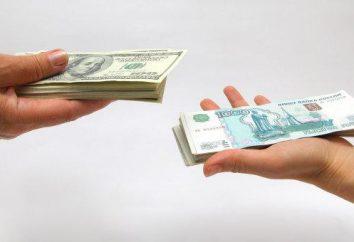 Conversione di valuta è cosa?