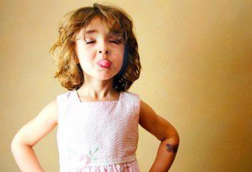 Criança linguagem chula: possíveis causas e resolver o problema