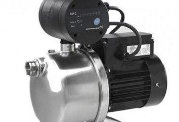 """Pumpstation """"Grundfos"""" (Grundfos). Häusliche und industrielle Pumpanlagen"""