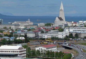 La capitale d'Islanda – Reykjavik stupefacente