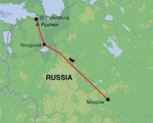 """Moskau – St. Petersburg Autobahn. M11 Route. Speedway """"Moskau – St. Petersburg"""""""
