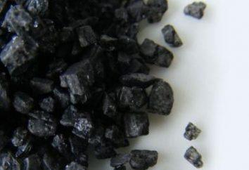 Indyjski czarny Sól: korzyści i szkody. Chetvergova Black Salt: korzyści i szkód