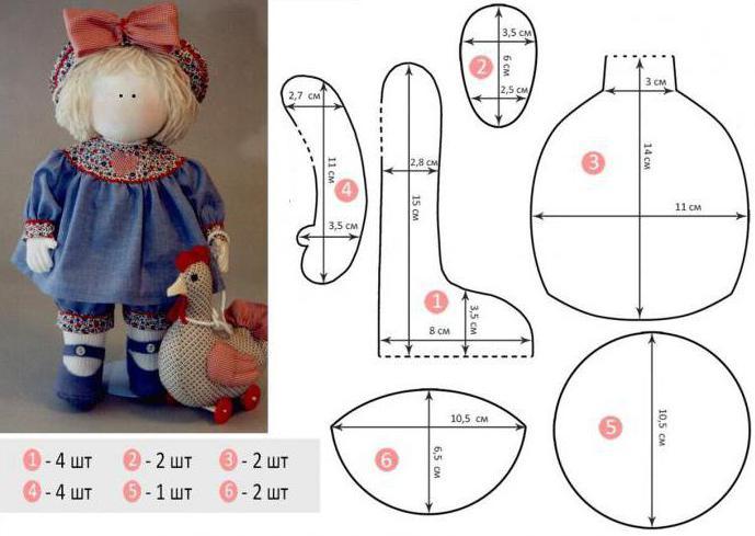 Nähen Sie eine wundervolle kleine Sache hilft Muster Puppen ...