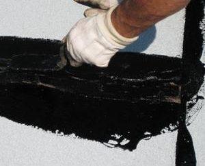 Bitumiczna lany dachowe: cechy