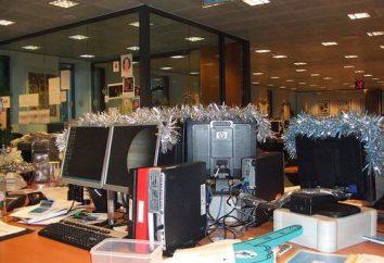 Jak urządzić biuro na Nowy Rok? biuro dekoracji na Nowy Rok: pomysłów i wskazówek
