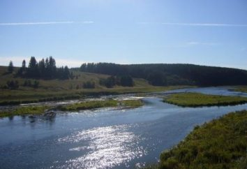 Sandy Lake dans la région de Tcheliabinsk