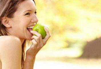Apple dieta: i risultati e il feedback. Quante calorie in 1 mela?