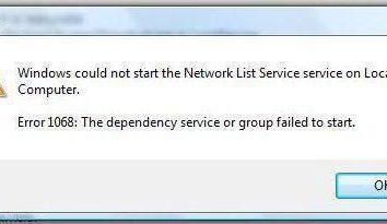 Impossible de démarrer la filiale de services. Que faire?