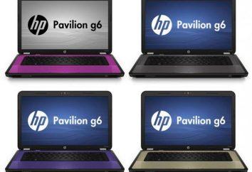 HP Pavilion G6: Spezifikationen. Laptop HP Pavilion G6