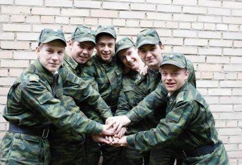 """""""Kadeci Kremla"""": obsługa, przyjaźni i miłości. """"Kadeci Kremla"""": Aktorzy i postacie"""