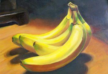 Jak narysować ołówkiem bananów i farb