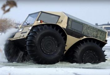 Rosyjski rover: opis, charakterystyka, zdjęcia