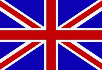 Gran Bretagna bandiera. La storia e il significato della bandiera