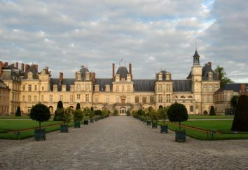 Palacio de Fontainebleau (Francia). Palacio de Fontainebleau: la historia, descripción
