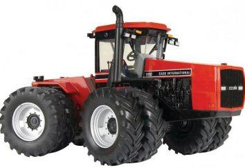 Case (tracteur): un aperçu de la gamme de modèles