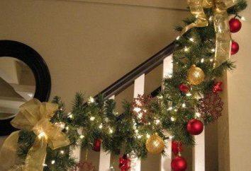 girlandy schemat jodełkę. Jak zrobić świąteczny wieniec?