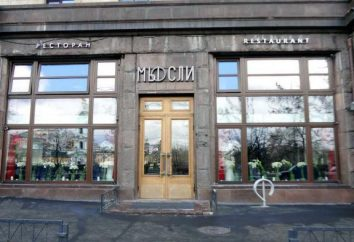 Restaurant Muesli, Moskwa: opis, menu, recenzje i ceny