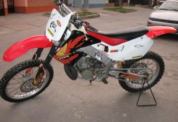 Motorrad Übersicht Honda CRM 250: Eigenschaften, Leistung und Bewertungen