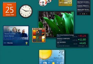 Gadgets pour Windows 7: Comment les installer?