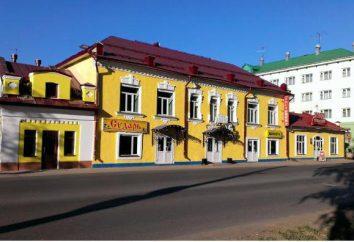 « Dvina » – l'hôtel le plus populaire à Veliki Oustioug, ainsi que d'autres hôtels dans la résidence du Père Noël