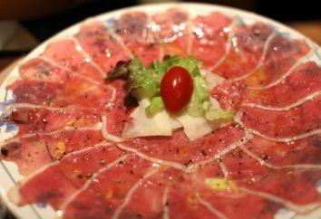 Carpaccio – to znakomity włoski przekąska na wakacje