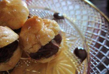 Profiteroles: recette de pâte. crème profiteroles