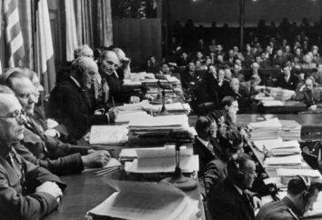 Tokyo Studien und die Nürnberger Prozesse