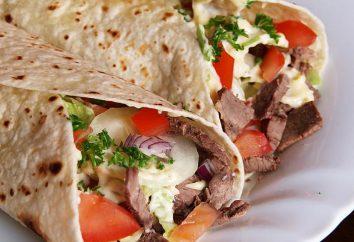 Shaverma: una ricetta a casa. Shaverma è cosa?