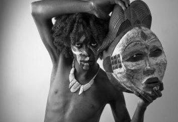 Maschera africana e il suo significato magico