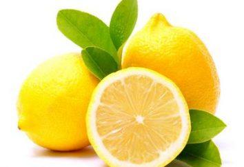 Lemon – kalorie, właściwości, zastosowanie, przeciwwskazania