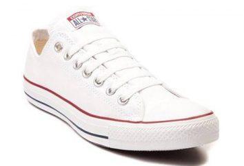 Białe Converse – idealne rozwiązanie do codziennego wizerunku