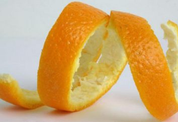 Buccia d'arancia: l'uso di ricette con le foto