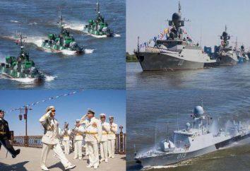 flottille de la Caspienne marine Russie: la structure et l'emplacement