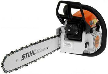 Stihl 250 MS: commentaires, caractéristiques, performances