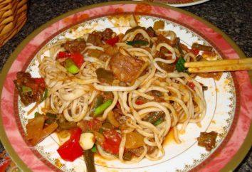 Receita de Stalik Khankishiyeva: preparar pilaf e Lagman