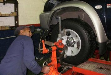 alignement de roue correct. L'effet sur drivability
