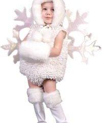 Schneeflocke Kostüm mit ihren eigenen Händen – nicht so schwer, wie es scheint