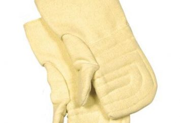 Kevlar rękawice jak ochrona