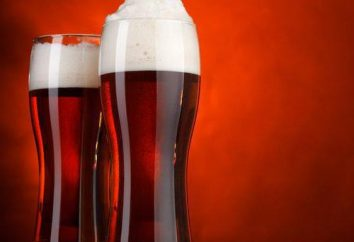 bière rouge: bière et bière blonde