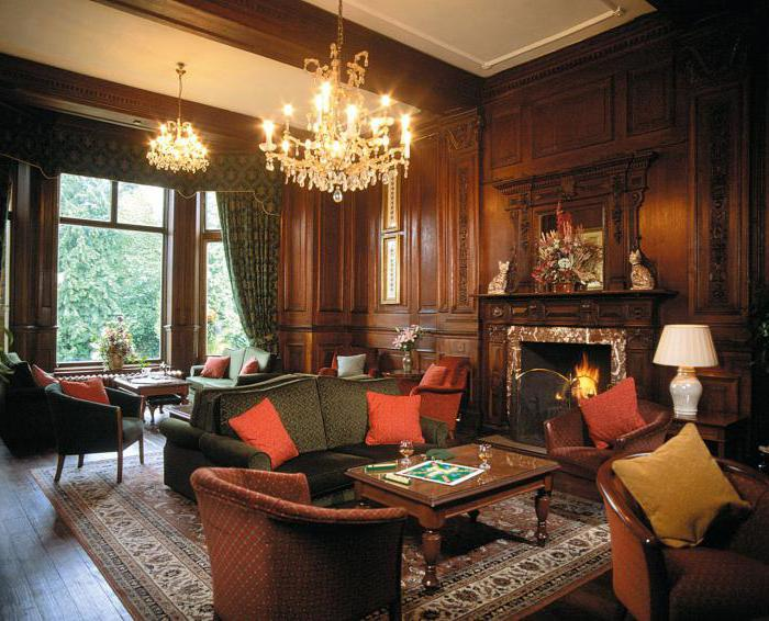 Interni Case Stile Inglese : Inglese appartamenti interni e design casa di campagna
