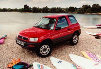 """Vergleichstestfahrt """"Toyota Rav 4"""" der ersten und zweiten Generation von"""