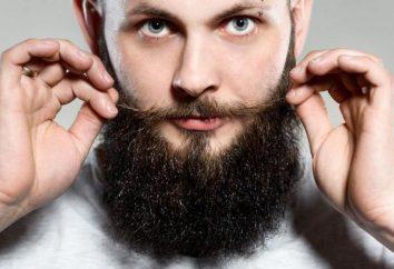 Maschio crescita della barba spray e setole: recensioni