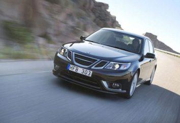 """Przegląd samochodu """"Saab 9-3"""""""