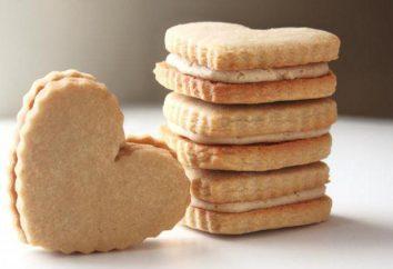 biscuits sablés maison: recette de beurre. cuisson savoureuse