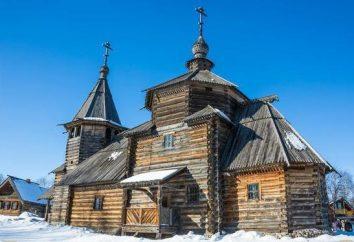 Pequeno anel dourado da Rússia: uma lista de cidades, atrações e fatos interessantes