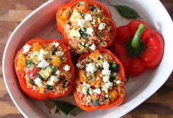 Wie kochen gefüllte Paprika: Tipps Hausfrau