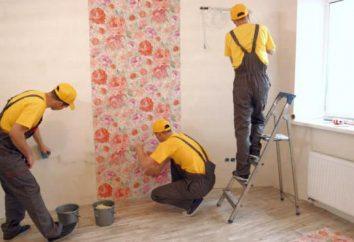 Wo Reparaturen in der Wohnung beginnen? Laminat oder Tapete – es ist besser, zuerst zu tun?